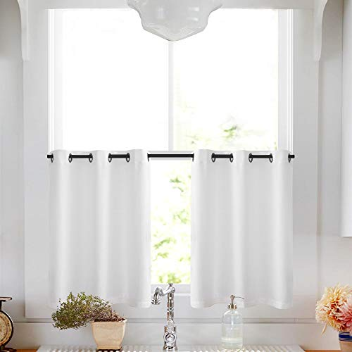 3pc Beige Yellow Sunflower And Butterfly Kitchen Cafe: Kitchen Curtain Ideas